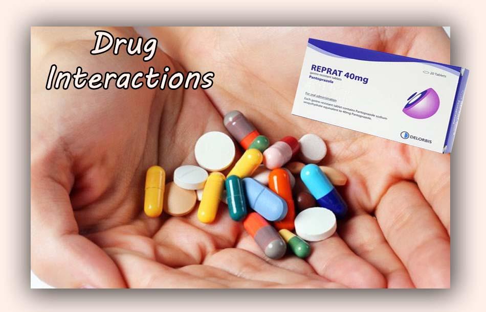 Tương tác của thuốc Reprat