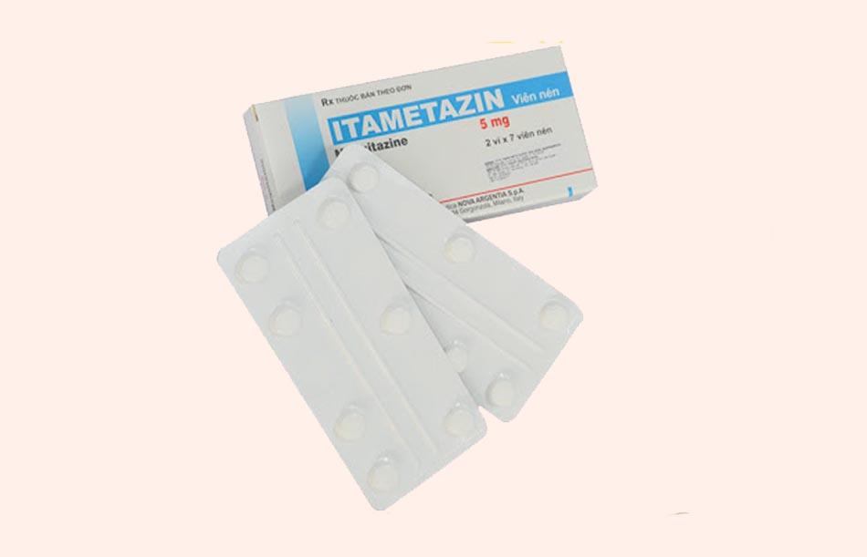 Hỉnh ảnh hộp và vỉ thuốc Itametazin
