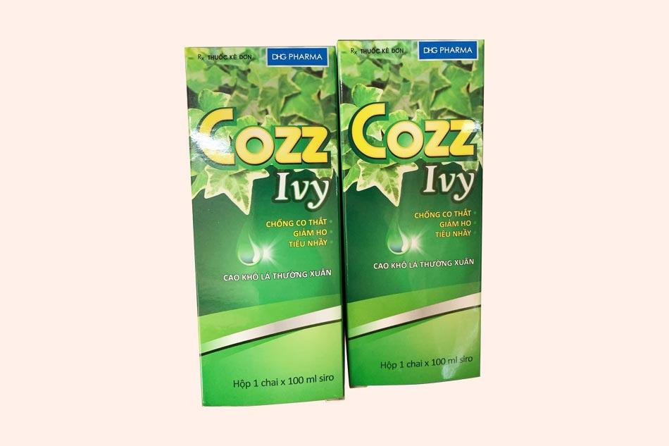Cozz Ivy - thuốc trị ho có thành phần thảo dược