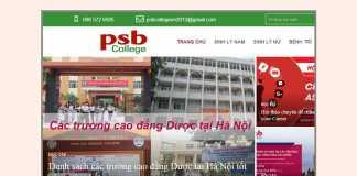 Giới thiệu PSB College