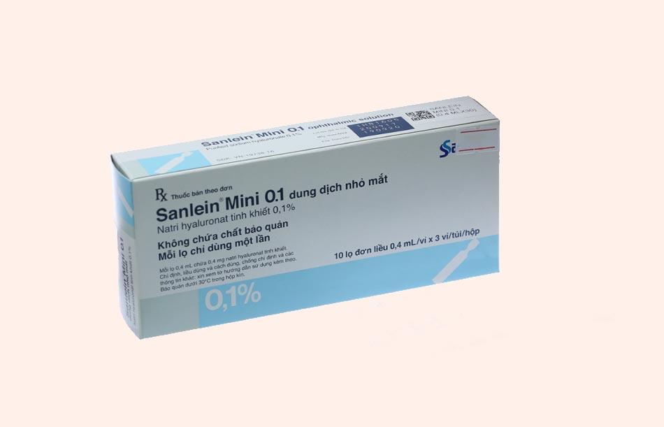 Thuốc Sanlein mini 0,1