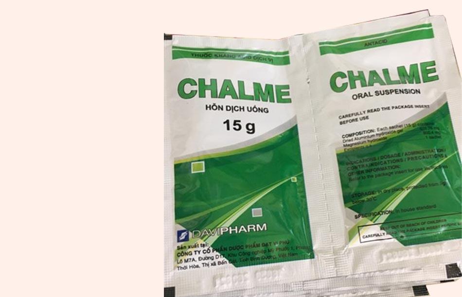 Gói thuốc Chalme