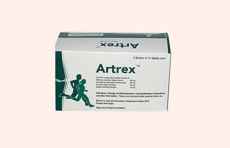 Hộp thuốc Artrex