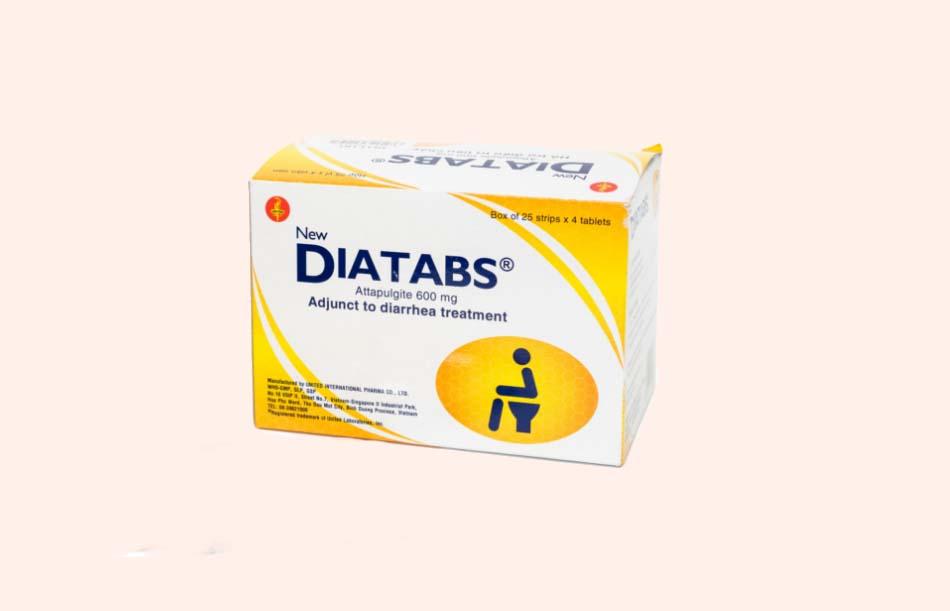 Hộp thuốc Diatabs
