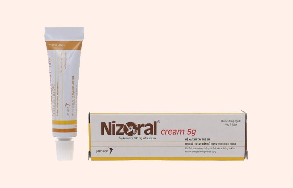 Thuốc Nizoral cream 5g