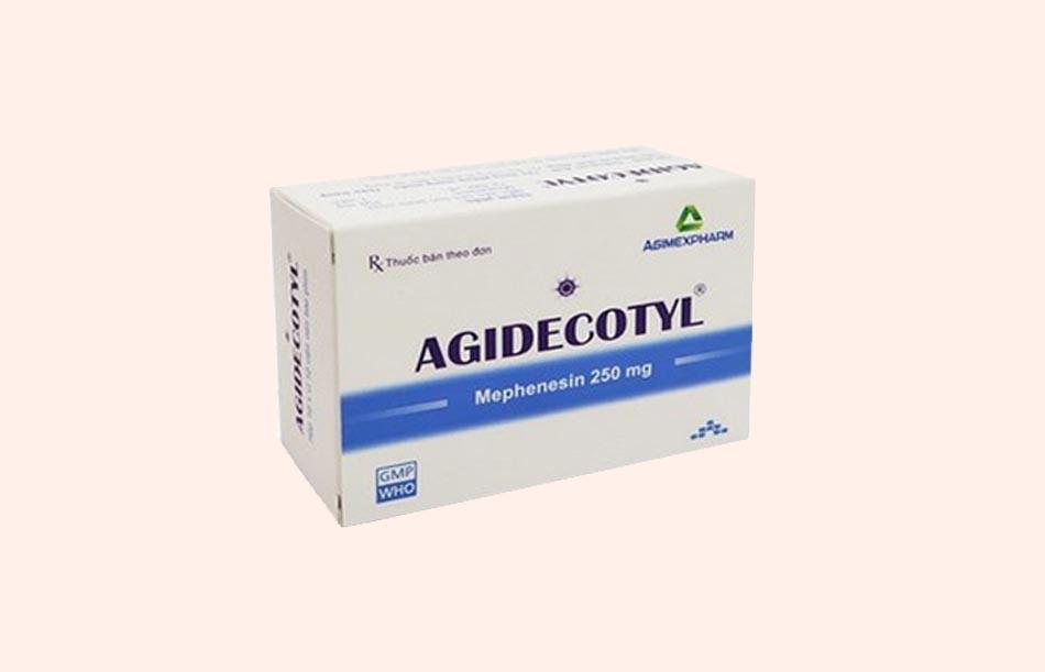 Thuốc Agidecotyl 250mg