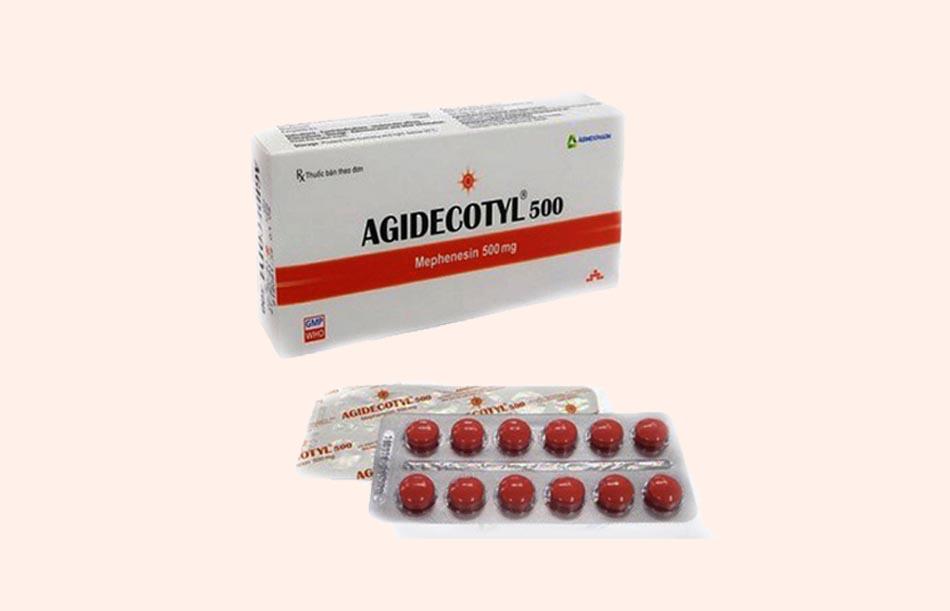 Thuốc Agidecotyl 500mg