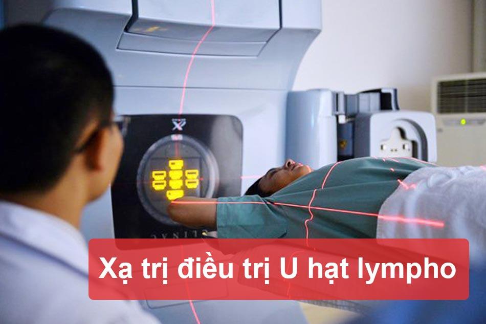 Xạ trị điều trị U hạt Lympho