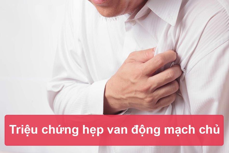 Biểu hiện lâm sàng của hẹp van động mạch chủ