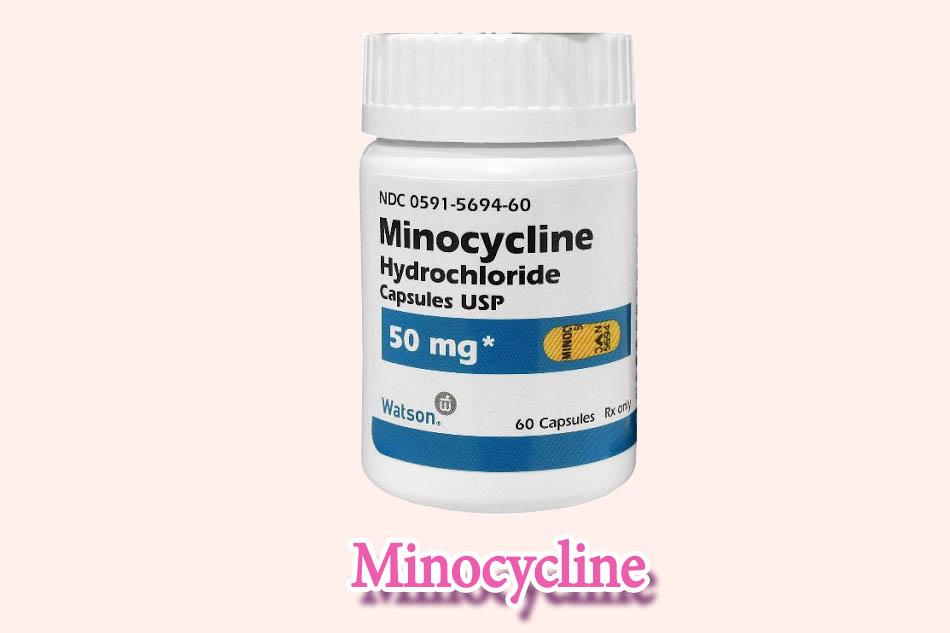 Minh họa: Thuốc Minocycline