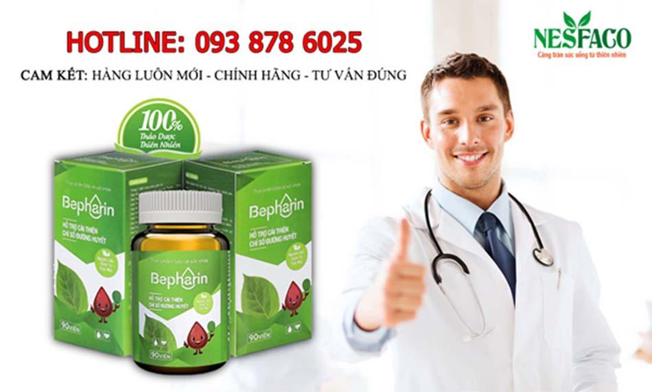 Viên uống Bepharin - Sự lựa chọn tốt nhất phòng và hỗ trợ điều trị tiểu đường