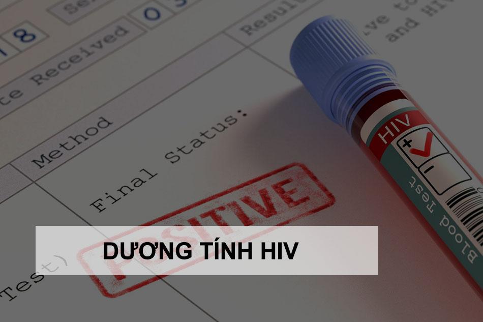 Test nhanh HIV dương tính phải làm sao?