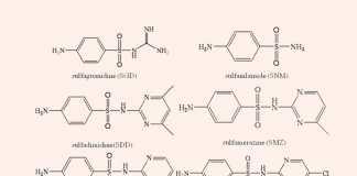 Cấu trúc hóa học của một số Sulfamide