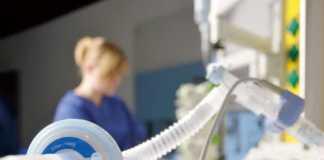 Bộ trao đổi nhiệt và độ ẩm và bộ lọc hệ thống dây máy thở: sử dụng trong gây mê và chăm sóc đặc biệt.