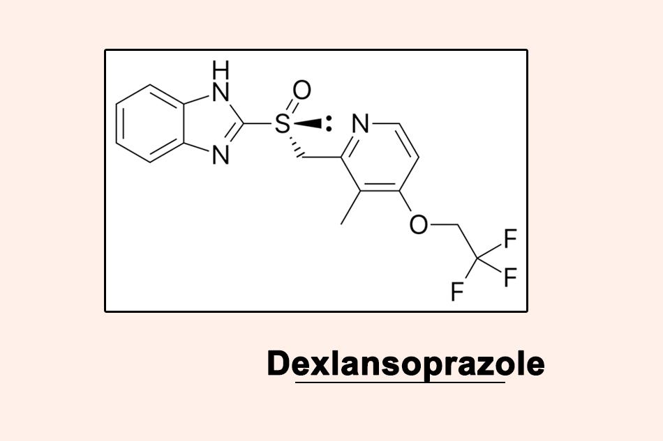 Cấu trúc hóa học của Dexlansoprazole