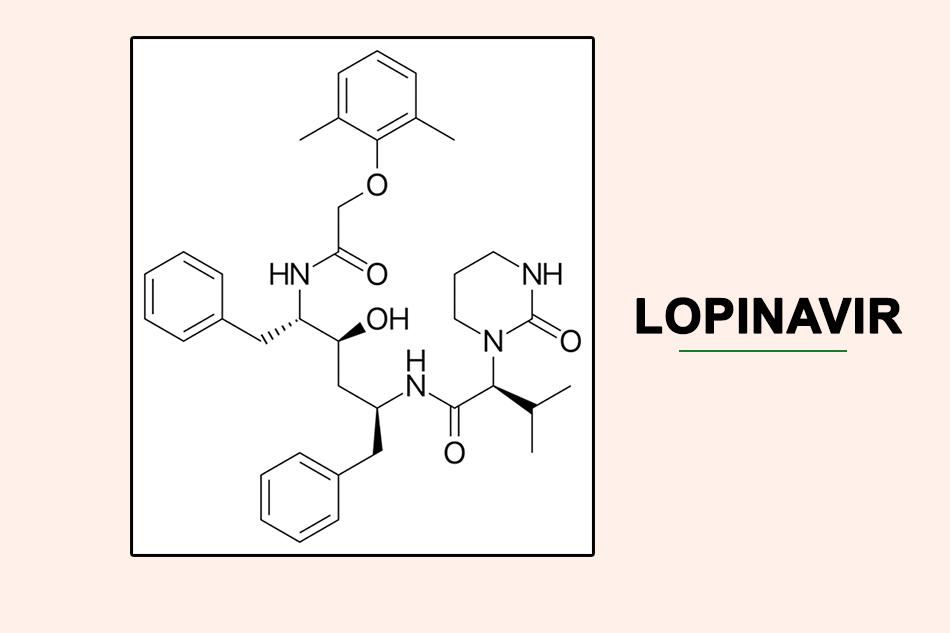 Cấu trúc hóa học của Lopinavir