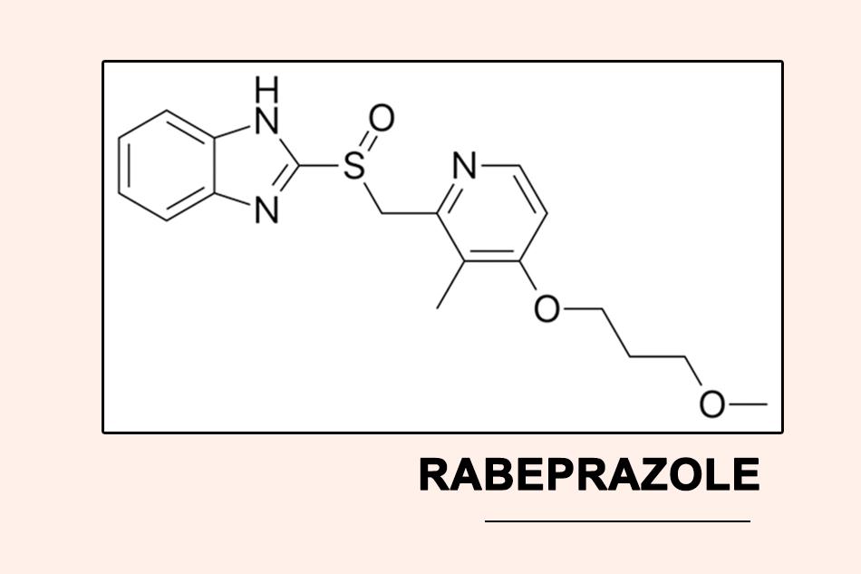 Cấu trúc hóa học của Rabeprazole