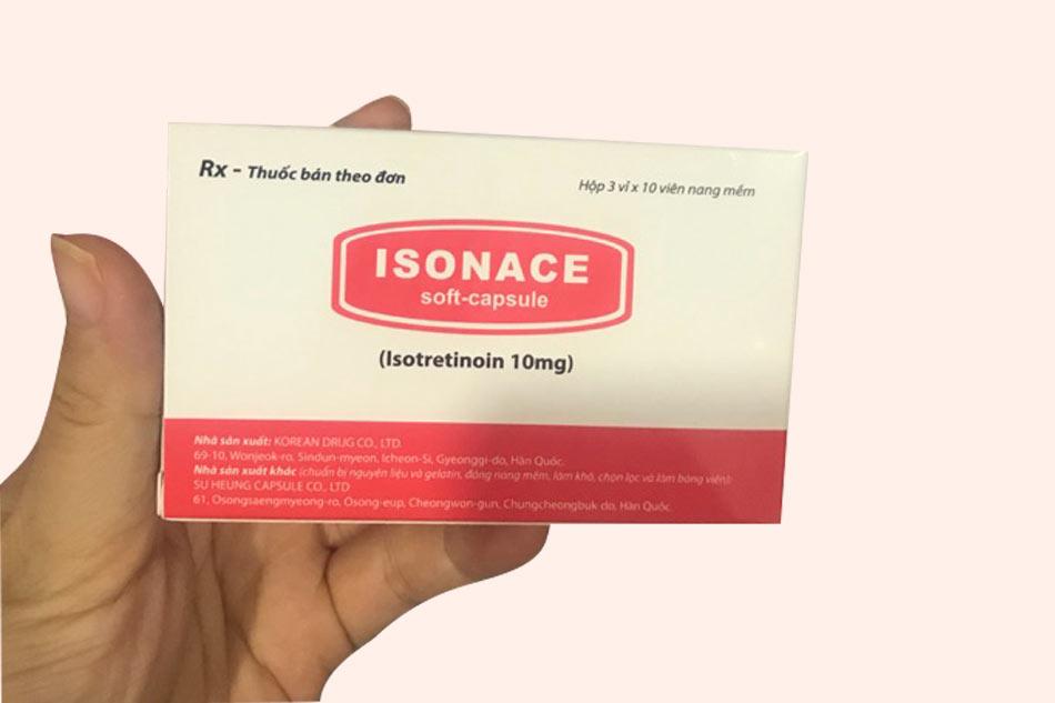 Hình ảnh hộp thuốc Isonace