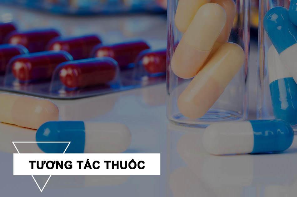 Tương tác của Clindamycin với các thuốc khác