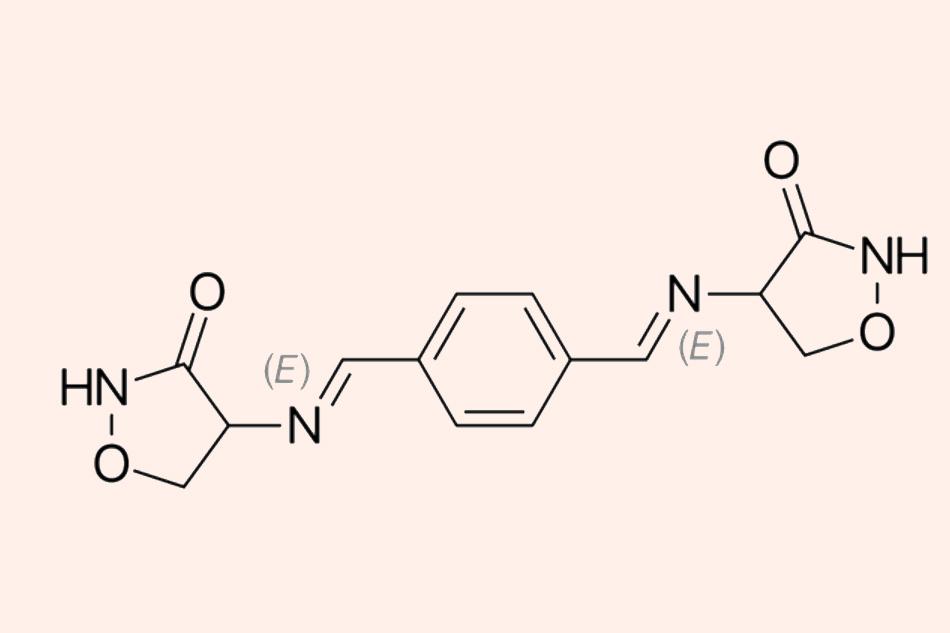 Cấu trúc hóa học của Terizidone