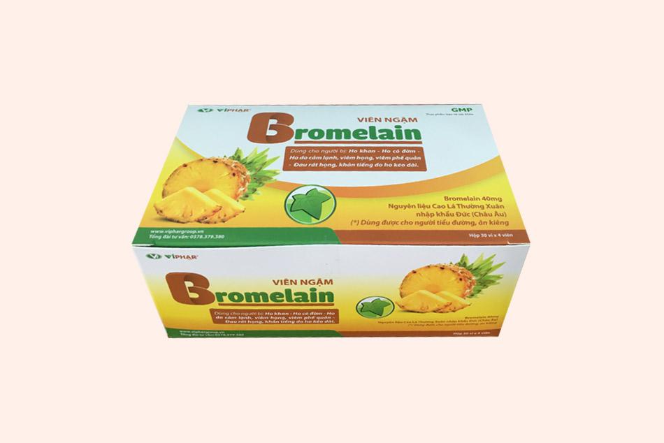 Hộp sản phẩm Bromelain