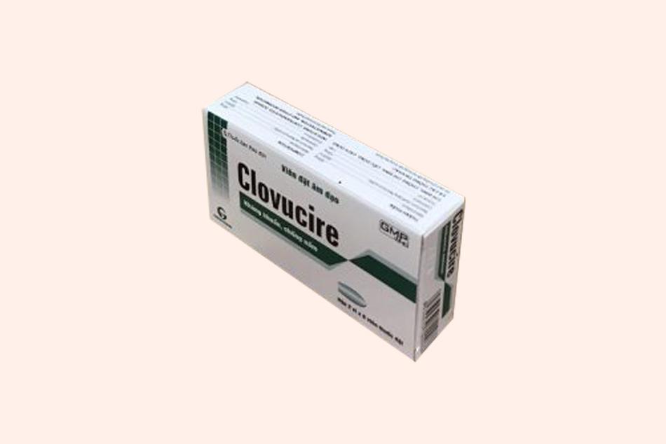 Hình ảnh khác của hộp thuốc Clovucire