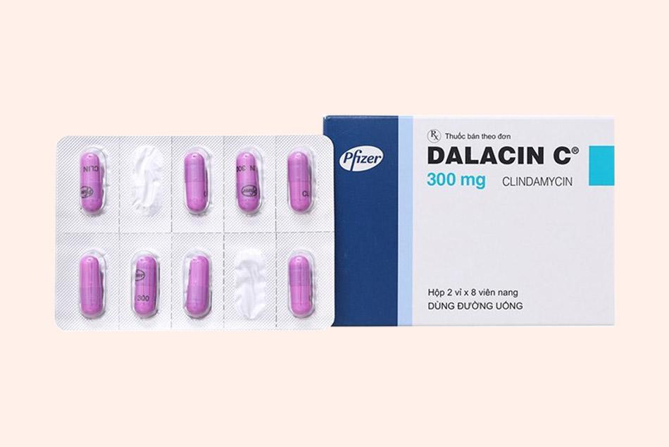 Dalacin C là biệt dược của Clindamycin