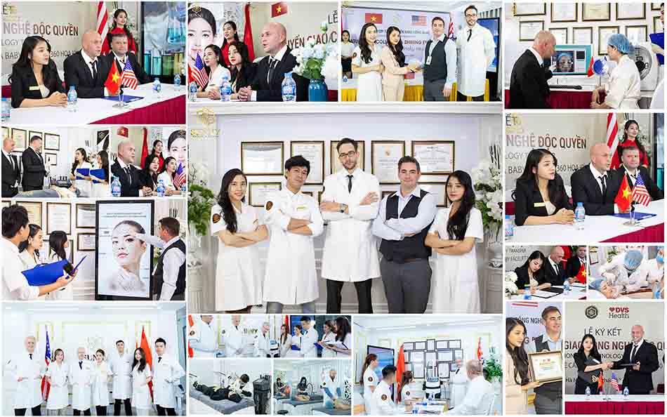 Hình ảnh đội ngũ y bác sĩ của thẩm mỹ viện Sunny
