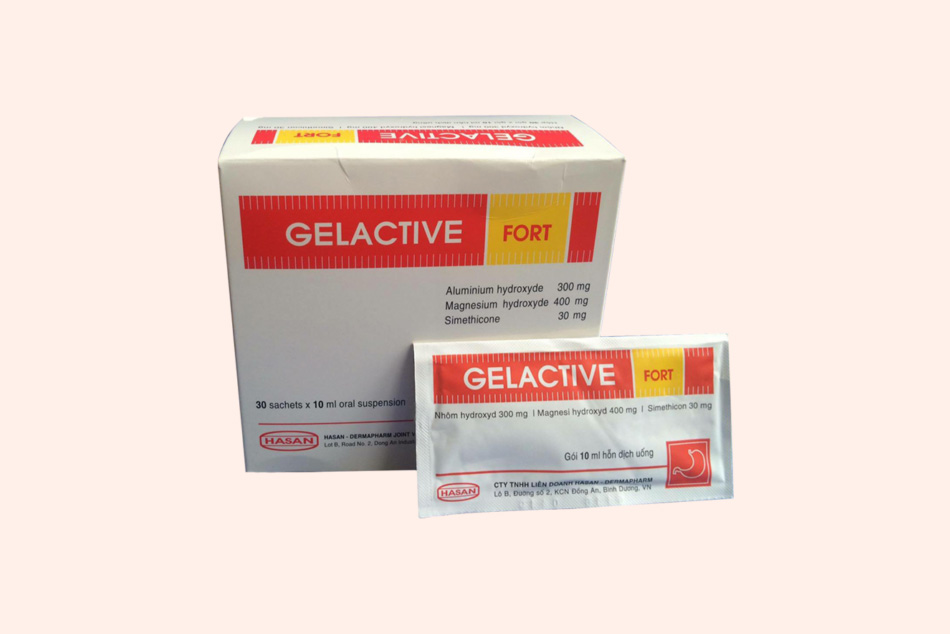 Hình ảnh khác của thuốc Gelactive Fort