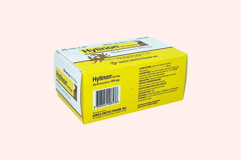 Hytinon xuất xứ từ Hàn Quốc