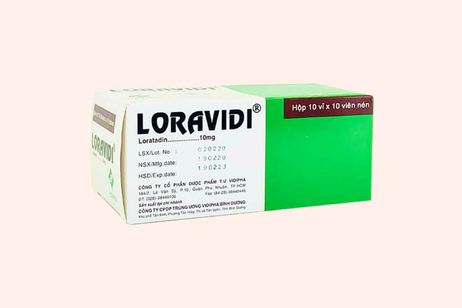 Hình ảnh hộp thuốc Loravidi