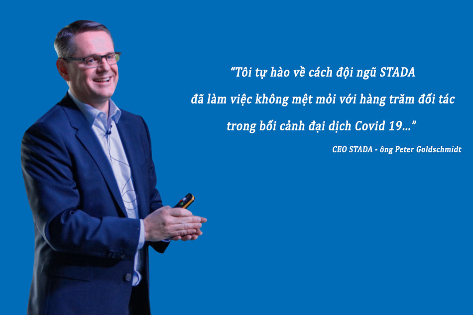 CEO STADA - ông Peter Goldschmidt