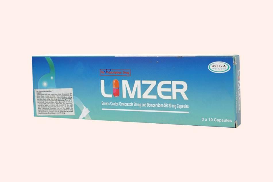 Hình ảnh hộp thuốc Limzer