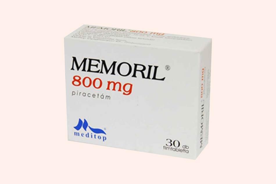 Hình ảnh hộp thuốc Memoril