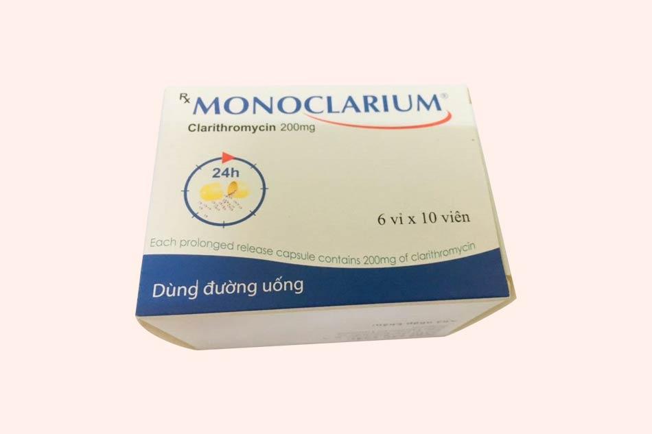 Hình ảnh hộp thuốc Monoclarium