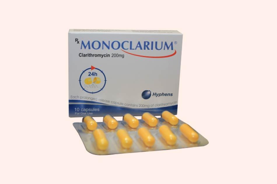 Monoclarium điều trị bệnh nhiễm khuẩn