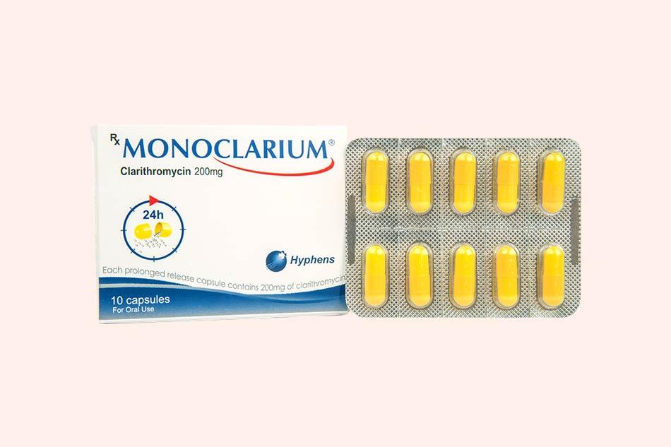 Thuốc Monoclarium bào chế dưới dạng viên nang
