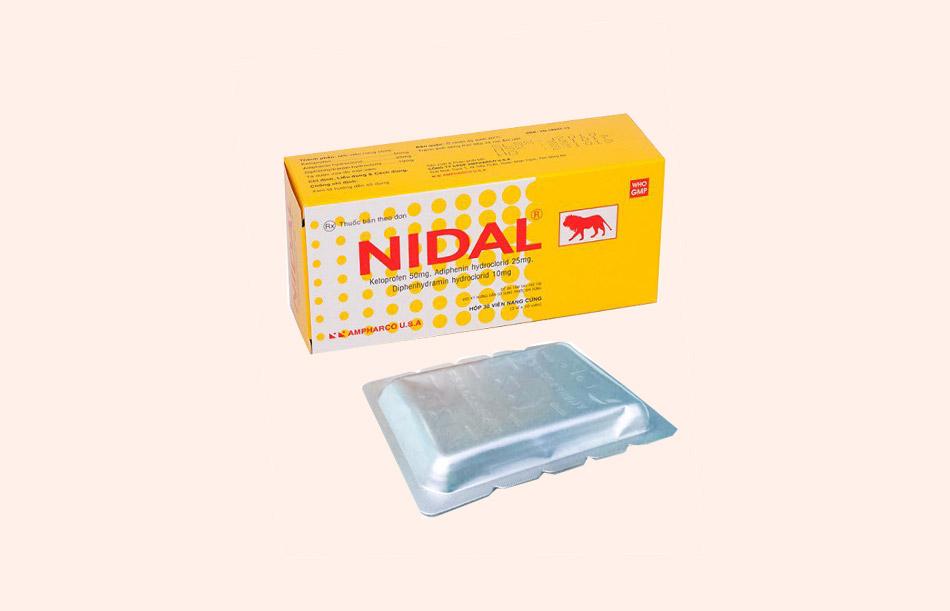 Những lưu ý khi sử dụng thuốc Nidal