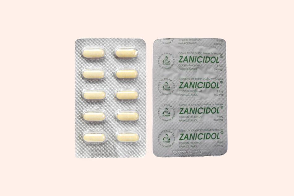 Hình ảnh hai mặt của vỉ thuốc