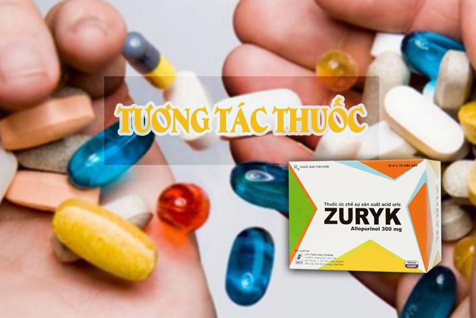 Một số tương tác thuốc cần lưu ý