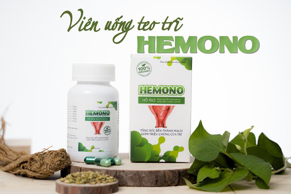 Hemono - viên uống teo trĩ hiệu quả
