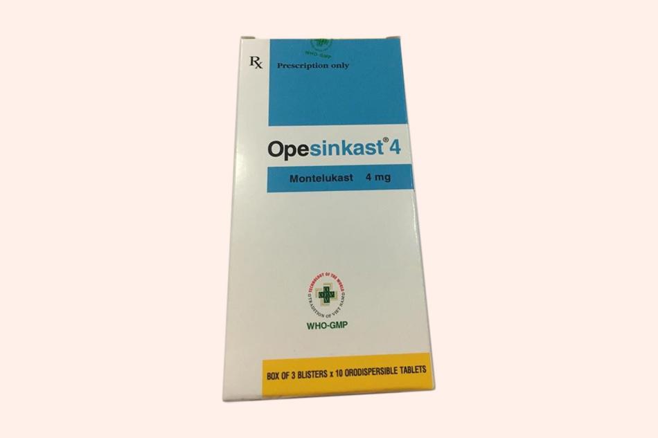 Hình ảnh hộp thuốc Opesinkast 4mg