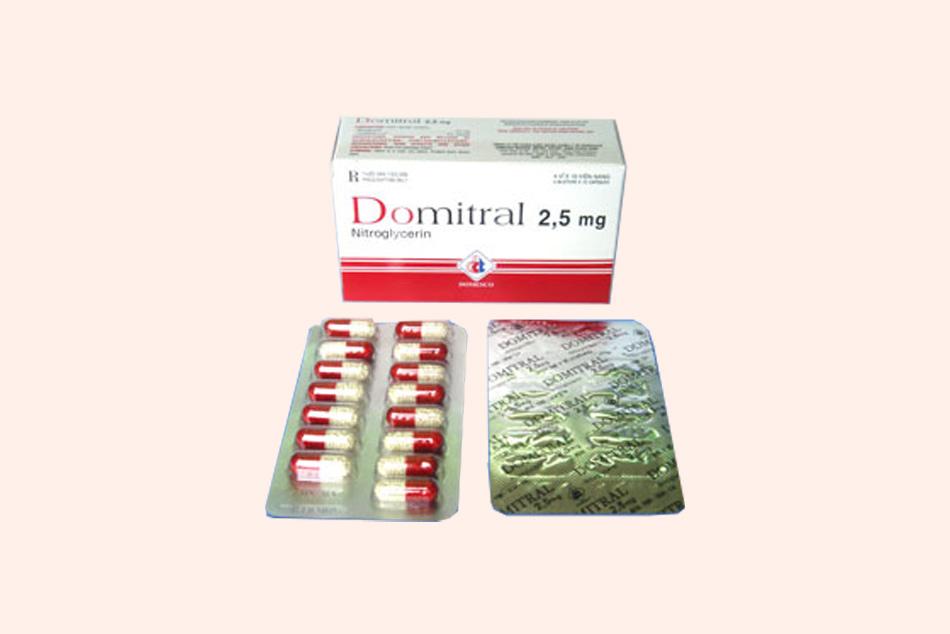 Dạng đóng gói của thuốc Domitral
