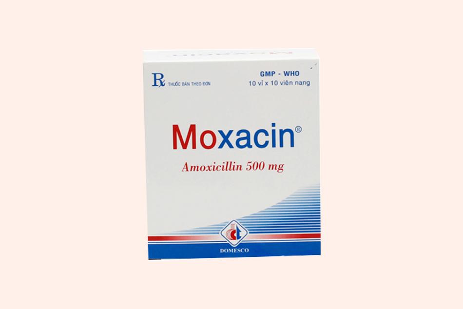 Hình ảnh hộp thuốc Moxacin