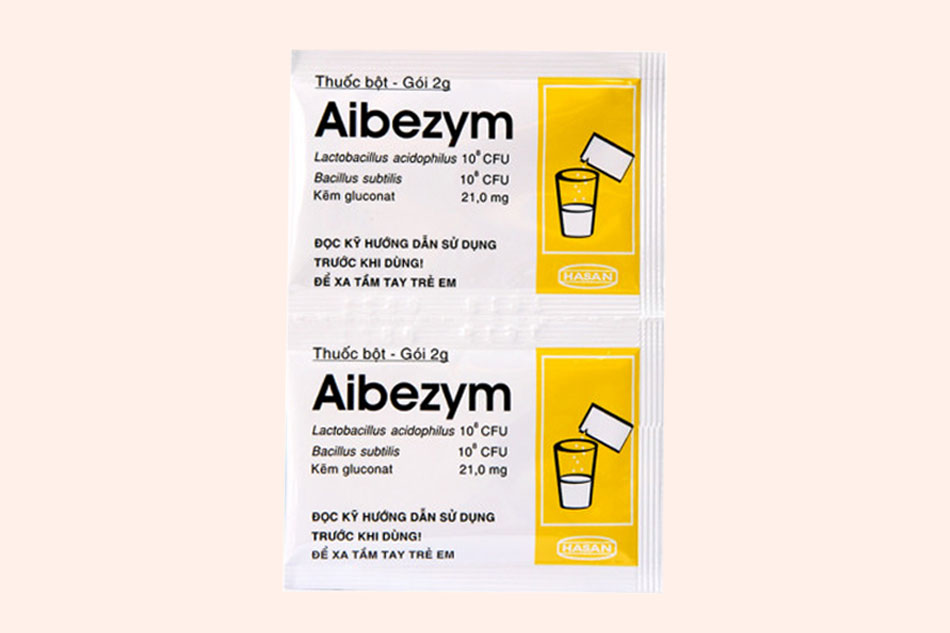 Hình ảnh gói thuốc Aibezym 2g