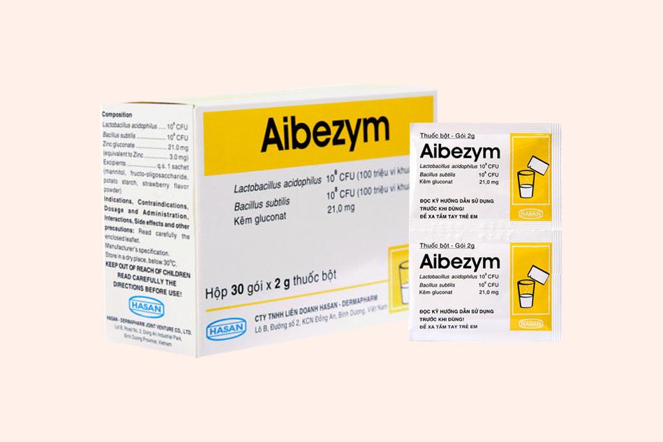 Thuốc Aibezym có tác dụng gì?