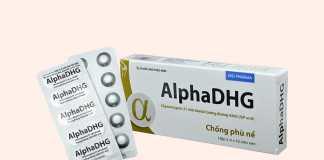 Hình ảnh hộp và vỉ thuốc AlphaDHG