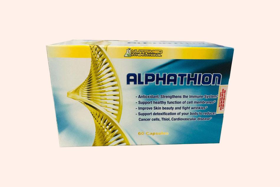 Hình ảnh hộp thuốc Alphathion