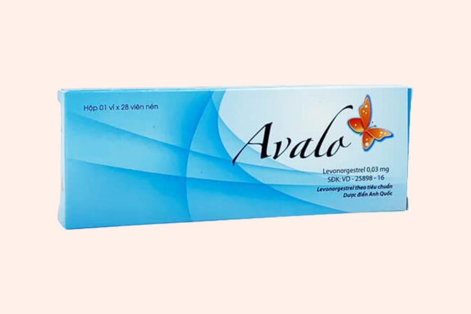 Hình ảnh hộp thuốc Avalo
