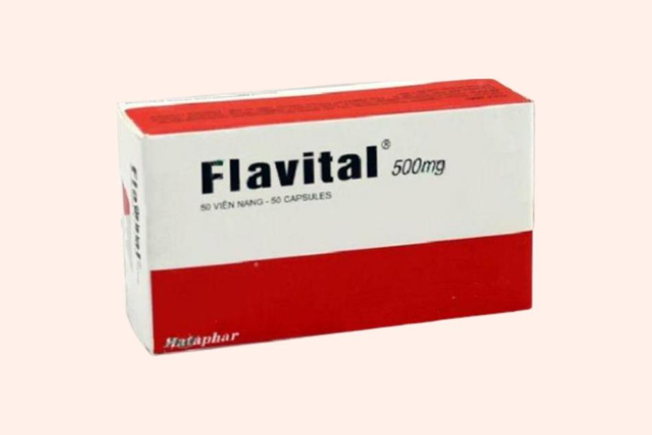 Hình ảnh hộp thuốc Flavital 500